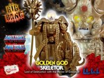 Masters of the Universe - Golden God Skeletor (USA card) - Barbarossa Art