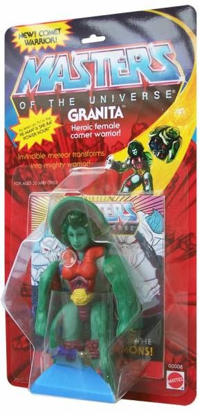 Masters of the Universe - Granita (USA card) - Barbarossa Art