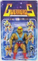 Masters of the Universe - He-Man \'\'Guerreros del Espacio\'\' (carte Espagne)