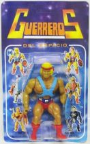 Masters of the Universe - He-Man \'\'Guerreros del Espacio\'\' (Spain card)