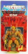 Masters of the Universe - He-Man (USA 8-back card)