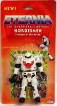 Masters of the Universe - Hordesmen \'\'Eternia : The Adventures Continue\'\' (USA card)