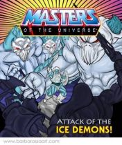 Masters of the Universe - Icer (USA card) - Barbarossa Art