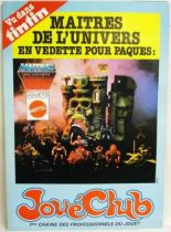 Masters of the Universe - Jouéclub 1983 promotional poster