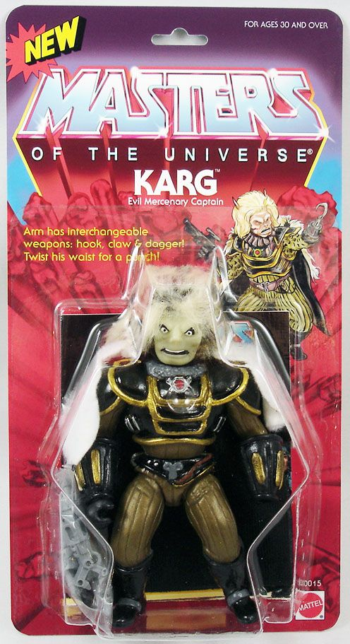 Masters of the Universe - Karg (carte USA) - Barbarossa Art