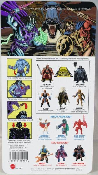 Masters of the Universe - Keldor (carte USA) - Barbarossa Art