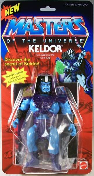 Masters of the Universe - Keldor (USA card) - Barbarossa Art