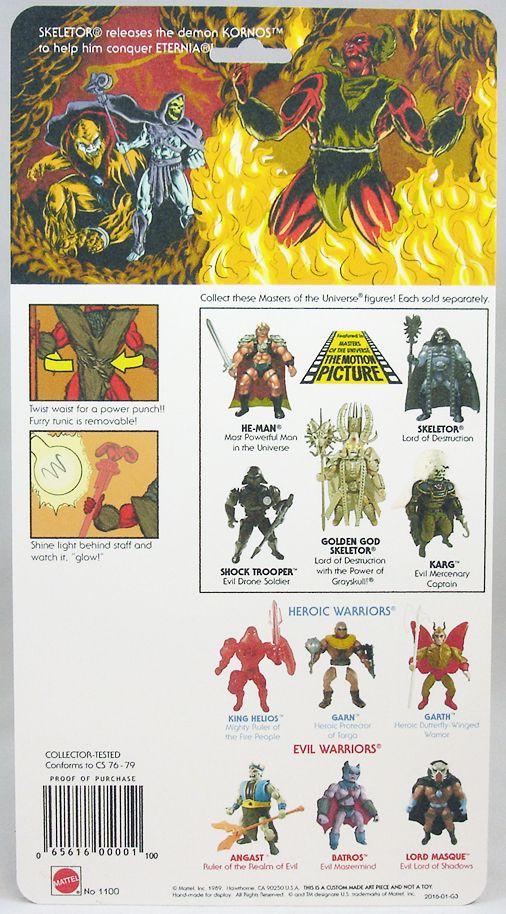 Masters of the Universe - Kornos (USA card) - Barbarossa Art
