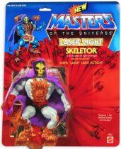 Masters of the Universe - Laser Light Skeletor / Skeletor Eclat Funeste (carte USA) - Barbarossa Art