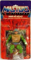 Masters of the Universe - Man-At-Arms (Spain Congost 8-back card)