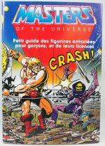 Masters of the Universe - Mattel licencing style guide 1982-83 in french (hardcover)