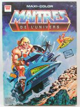 Masters of the Universe - Maxi-Color Coloring Book - Whitman-France