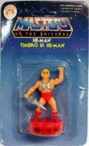 Masters of the Universe - Mini Stamp - Mattel series 1 - He-Man