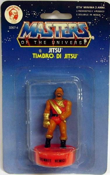 Masters of the Universe - Mini Stamp - Mattel series 1 - Jitsu