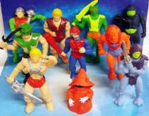 Masters of the Universe - Set of 10 Collectable Eraser-figures