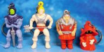Masters of the Universe - set of 4 2\'\' keychain figuress