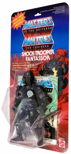 Masters of the Universe - Shock Trooper / Fantassor (carte Europe) - Barbarossa Art
