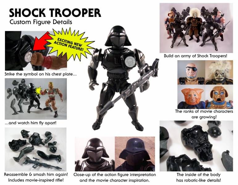 Masters of the Universe - Shock Trooper (USA card) - Barbarossa Art