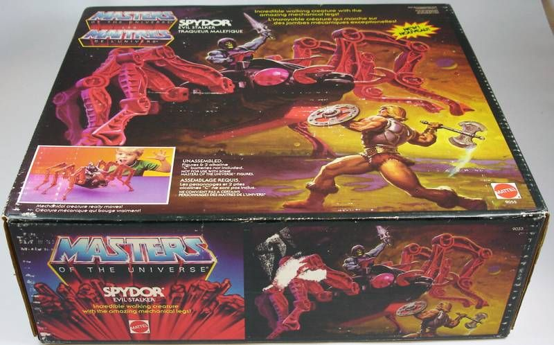 Masters of the Universe - Spydor (Canada box)