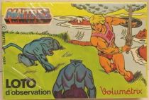 Masters of the Universe - Volumetrix memory loto game