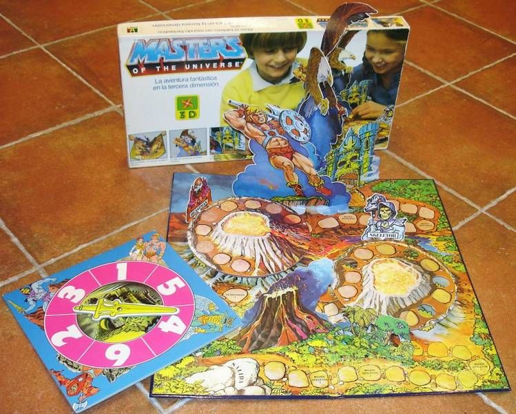 Masters of the Universe  3-D board game - Diset Spain