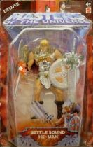 Masters of the Universe 200X - Battle Sound He-Man (silver)
