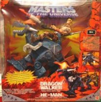 Masters of the Universe 200X - Dragon Walker & He-Man (with tatoo)