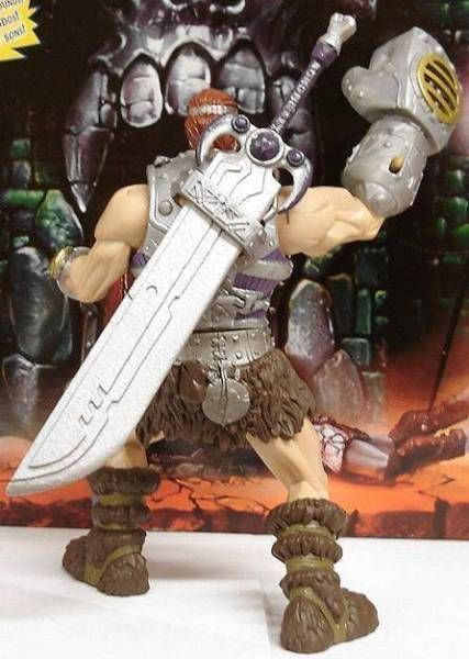Masters of the Universe 200X - Fisto\'s Sword - Custom accessory for figure - Lulu-Berlu exclusive