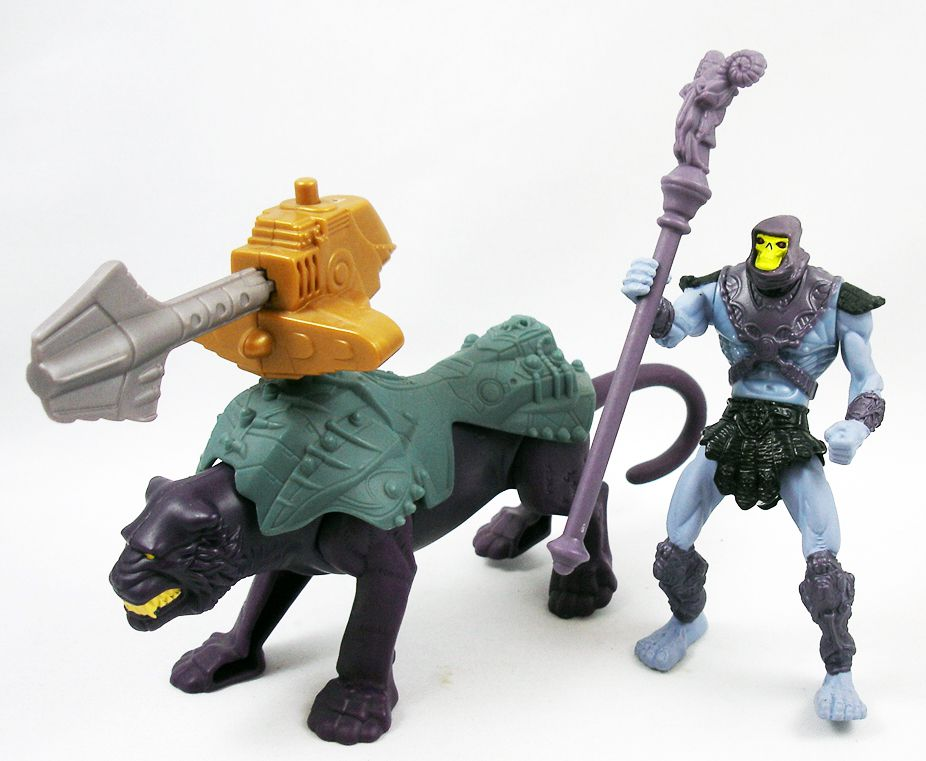 Masters of the Universe 200X - McDonald\\\'s - Set of 8 Happy Meal figures