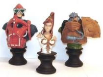 Masters of the Universe 200X - Micro-Bust 3-pack : Mekaneck, Teela & Man-at-Arms (SDCC Exclusive)