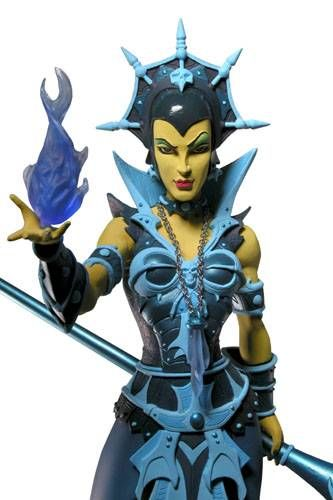 Masters of the Universe 200X - Mini-Statue Evil-Lyn (classic colors)