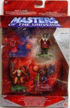 Masters of the Universe 200X - Miniature figure 4-pack : Jungle Attack He-Man, Snake Armor Skeletor, Orko & Ram-Man