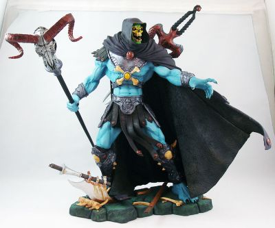 Masters Of The Universe 200x Skeletor 14 Statue Loose