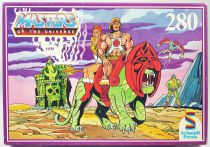 Masters of the Universe 280 pieces jigsaw puzzle - \'\'He-Man and Teela\'\' - Schmidt Puzzle