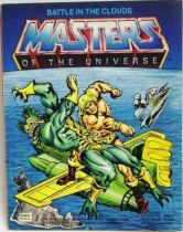 Masters of the Universe Mini-comic - Battle in the Clouds (english-french)