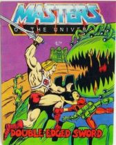 Masters of the Universe Mini-comic - Double-Edged Sword (english)