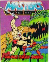 Masters of the Universe Mini-comic - Double-Edged Sword (english)