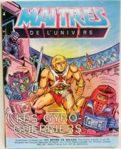 Masters of the Universe Mini-comic - Energy Zoids (english-french-german-italian)
