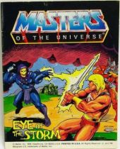 Masters of the Universe Mini-comic - Eye of the Storm (english)