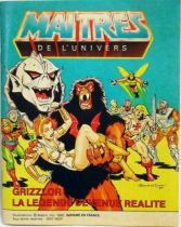 Masters of the Universe Mini-comic - Grizzlor : The Legend Comes Alive! (english-french)