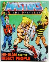 Masters of the Universe Mini-comic - He-Man and the Insect People \'\'replica\'\' (english)