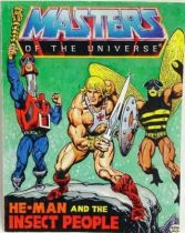 Masters of the Universe Mini-comic - He-Man and the Insect People (english)