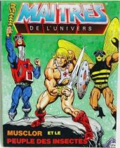 Masters of the Universe Mini-comic - He-Man and the Insect People (english-french)