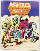 Masters of the Universe Mini-comic - He-Man and the Power Sword (french)