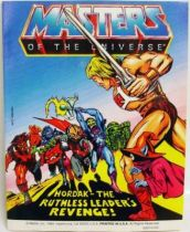 Masters of the Universe Mini-comic - Hordak - The Ruthless Leader\'s Revenge! (english)