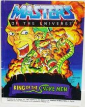 Masters of the Universe Mini-comic - King of the Snake Men (english)
