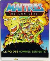 Masters of the Universe Mini-comic - King of the Snake Men (english-french-german-italian)