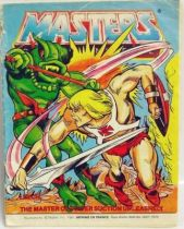 Masters of the Universe Mini-comic - Leech, the Master of Power Suction Unleashed! (english-french)