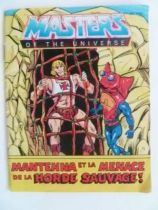 Masters of the Universe Mini-comic - Mantenna and the Menace of the Evil Horde! (english-french)