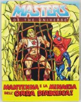 Mantenna and the Menace of the Evil Horde! (allemand-italien)